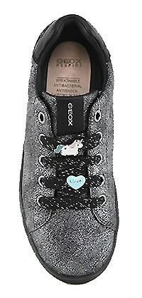 DJ ROCK LACE DARK SILVER - Geox