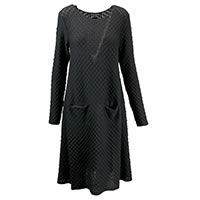 ROBE HELSIE BLACK - Hannes Roether