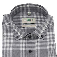 HERBIE GREY NEW FLANNEL - Haupt