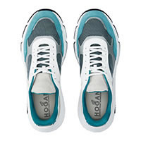 HOGAN HYPERLIGHT CYAN WHITE  - Hogan
