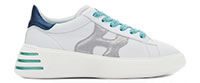 HOGAN NEW REBEL WHITE GREY  - Hogan