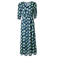 MAXI DRESS NIGHT FLOWERS - Imprevu Belgium
