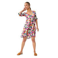 MINI DRESS FLOU FLOWER - Imprevu Belgium