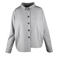 CHEMISE JUKEBOX GREY - Kokomarina