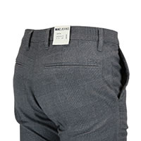 LENNOX WOOL LOOK STEEL CHECKS - MAC