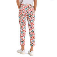 MELANIE CROPPED FLOWER PRINT - MAC