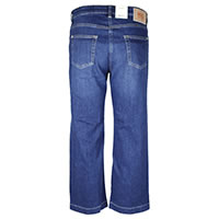 RICH WIDE LEGS BLUE DENIM - MAC