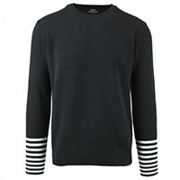 KENNY STRIPES BLACK - Mads Norgaard