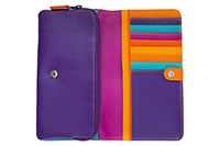 MYWALIT FLAPOVER WALLET ORANGE - Mywalit