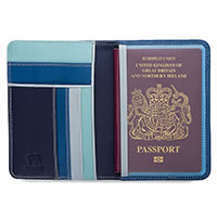 MYWALIT PASSPORT COV DENIM - Mywalit