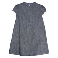 ROBE DIZZA LIGHT DENIM - Ozmoz