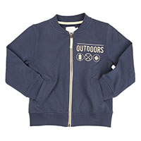 ZIP JACKET OUT BLEU - Ozmoz
