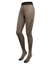 COLLANTS FICOD2 MARRON - Berthe aux grands pieds