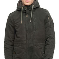 MANTEAU LAWRENCE DARK FOREST - Ragwear