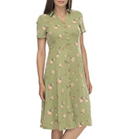 ROBE LOVLY LIGHT GREEN - Ragwear