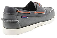 DOCKSIDES NOTCH DK GREY BLUE - Sebago