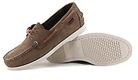 DOCKSIDES PORTLAND DARK BROWN - Sebago