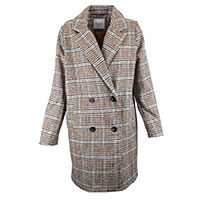 ANNA COAT CHESTNUT - Sparkz