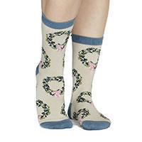 ADELLA SOCKS VANILLA - Thought
