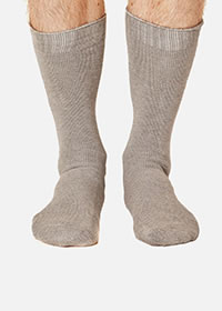 BLAIR THICK SOCKS GREY - Thought