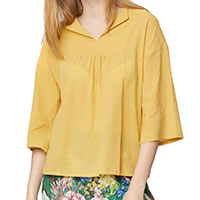 BLOUSE ANNA JAUNE - Thought