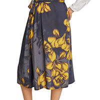 BRIGID SKIRT NAVY - Thought