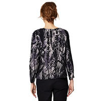 CITY NATURE TOP BLACK - Thought
