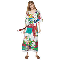 MAXI DRESS DOMINIKA MULTI - Thought