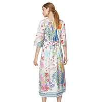 MAXI DRESS FLORAL MULTI - Thought
