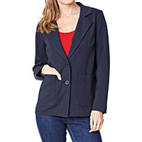 SILVIA JACKET NAVY - Thought