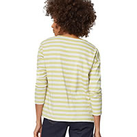 STRIPEY TEE CACTUS GREEN - Thought