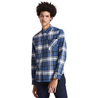 CHEMISE BACK RIVER HEAVY BLUE - Timberland