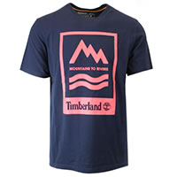 MOUNTAINS TO RIVER TEE NAVY - Timberland
