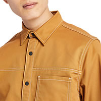 UTILITY SHIRT SS WHEAT - Timberland