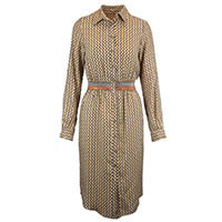 ROBE SANDRA BROWN RUST - Bariloche
