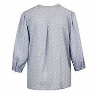 TOP BEATRIZ DOTTY BLUE - Bariloche