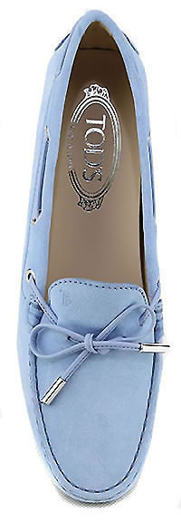 MOCASSINO CITY SKY BLUE - Tod's