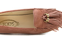 MOCASSINO PAMPILLES BLUSH - Tod's