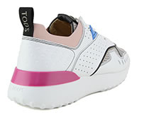 SPORTIVO 80 WHITE GREY PINK - Tod's