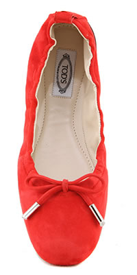 TODS BALLERINA COQUELICOT - Tod's