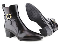 TODS BOOTS STRAP BUCKLE NOIR - Tod's