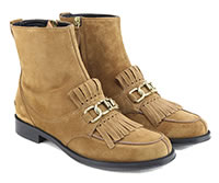TODS FRANGIA BOOTS BISCUIT - Tod's