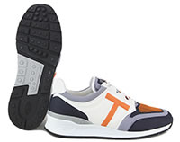 TODS SPORTIVO 69 GREY ORANGE  - Tod's