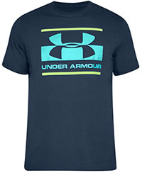 BLOCKED LOGO BLUE - Under Armour