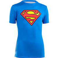 BOYS AE SUPERMAN BLEU - Under Armour