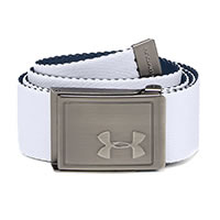 BOYS WEBBING BELT WHITE - Under Armour