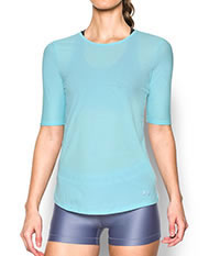 COOLSWITCH HALFSLEEVE BLEU - Under Armour