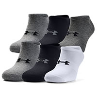 ESSENTIALS NO SHOW GRAY - Under Armour
