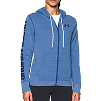 FAVORITE ZIP HOODIE BLUE - Under Armour
