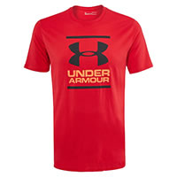 FOUNDATION TEE RED - Under Armour